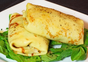Butternut Squash Crepes